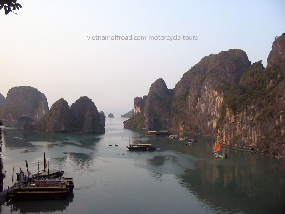 Offroad Vietnam Motorbike Adventures - Official 6 Days North-east & Halong Motorbike Tour, Halong Bay Cruise