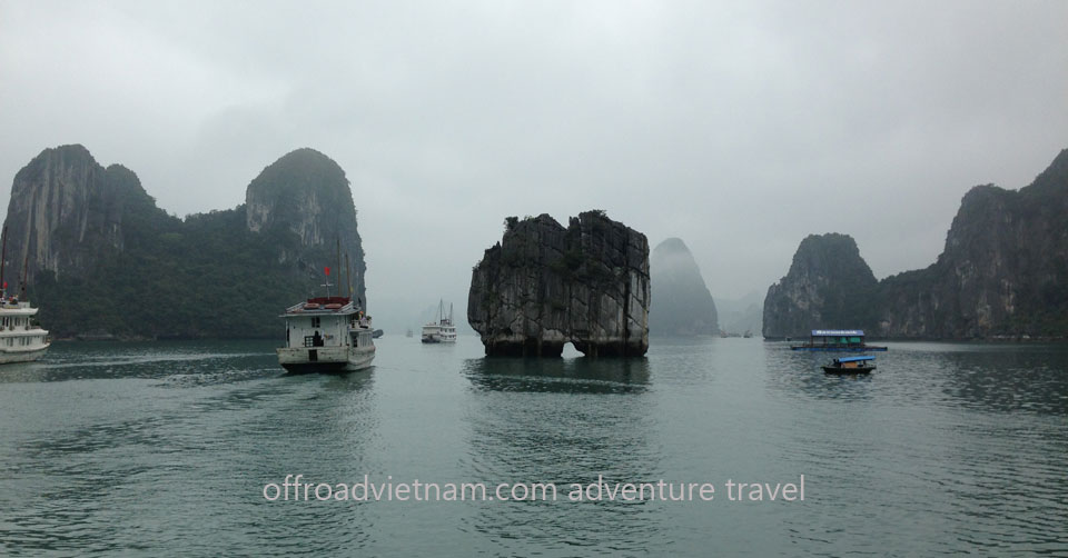 Offroad Vietnam Motorbike Adventures - Fantastic Halong Bay & Cat Ba 3 Days. By Bus