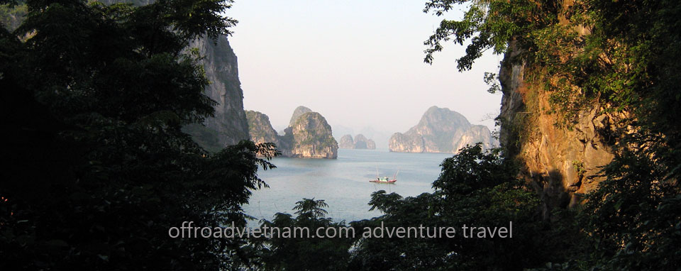 Offroad Vietnam Motorbike Adventures - Grand North Loop 13 Days Motorbike Tour. Halong Bay motorcycle tours