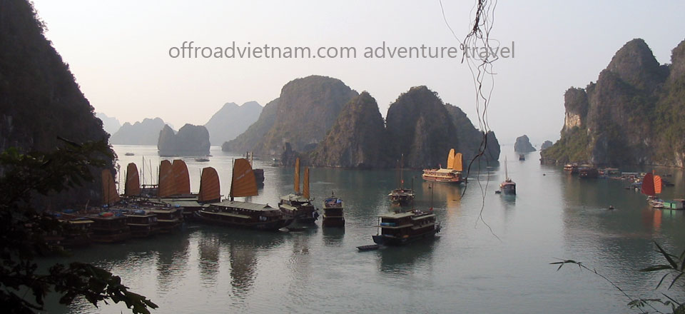 Offroad Vietnam Motorbike Adventures - North-east & Halong Bay Cruise 8 Days