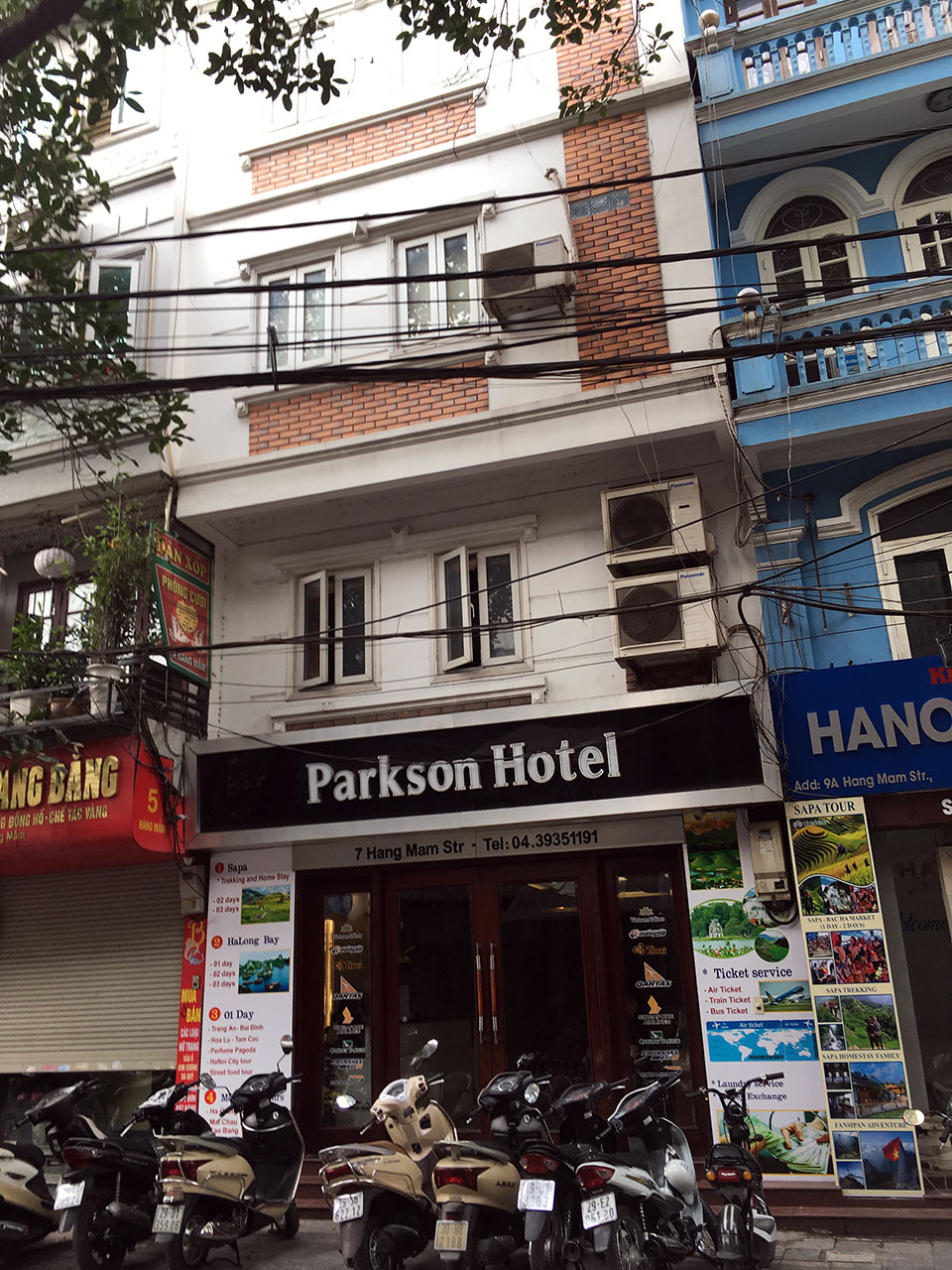 Hotel room reservation in Hanoi with Hanoi Parkson Hotel