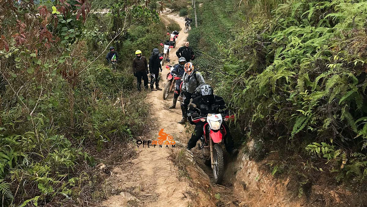 Offroad Vietnam Motorbike Adventures - Happy Central North 7 days motorbiking via Phu Yen, Son La.