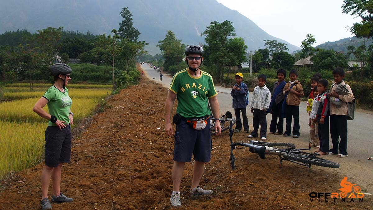 Offroad Vietnam Motorbike Adventures - Ho Chi Minh Trail/Road cycling tour by Sinhbalo Adventures.