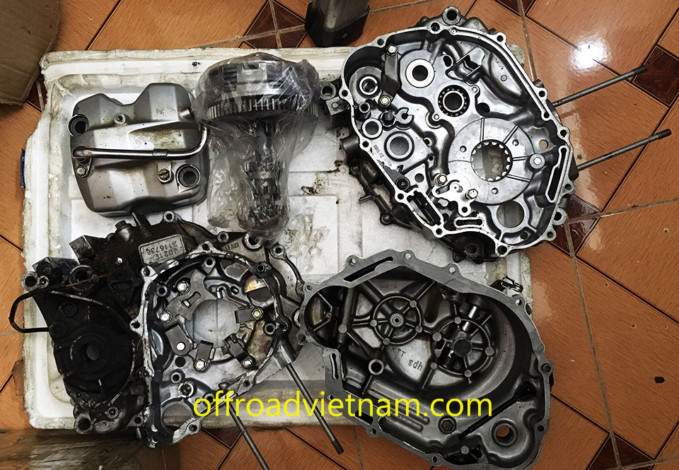 Offroad Vietnam Motorbike Adventures - Honda 125-150cc dirt bike spare parts prices.