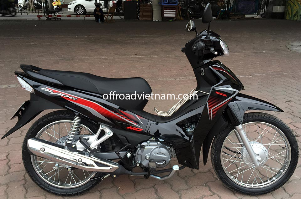Offroad Vietnam Scooter Rental - Honda Blade 110cc for rent In Hanoi, 2017 model