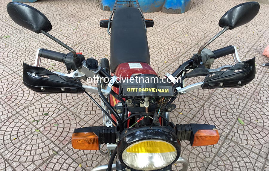 honda cgl125 125cc for rent in hanoi offroad vietnam adventures. Black Bedroom Furniture Sets. Home Design Ideas