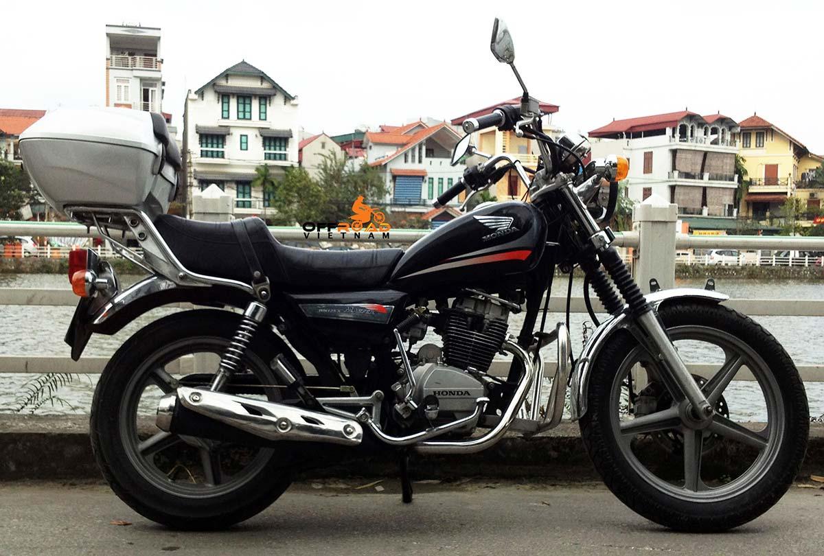 Offroad Vietnam Motorbike Adventures - Honda CM Master 150cc. Honda CM Master 150cc Luxury Cruiser, Disc brake