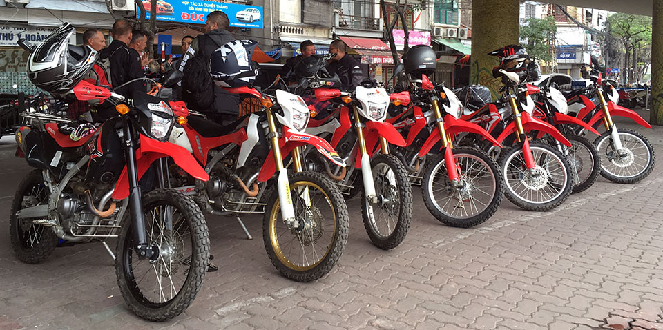Honda Crf250l For Your Motorbike Tours Or Rental In Hanoi Vietnam