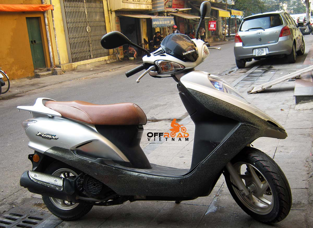 Offroad Vietnam Motorbike Sale - Honda Fuma 125cc For Sale In Hanoi. Honda Fuma Euro 3 2009 125cc Silver. Front Disc Back Drum Brake