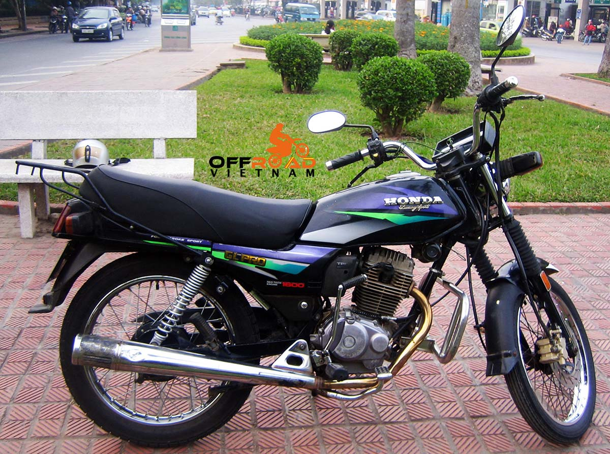 Offroad Vietnam Motorbike Sale - Used Honda GL160 Pro For Sale In Hanoi, 160cc. From right.