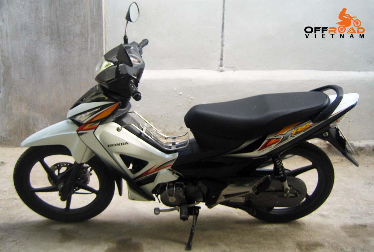 Offroad Vietnam Motorbike Sale - Honda RSX White 100cc Scooter For Sale