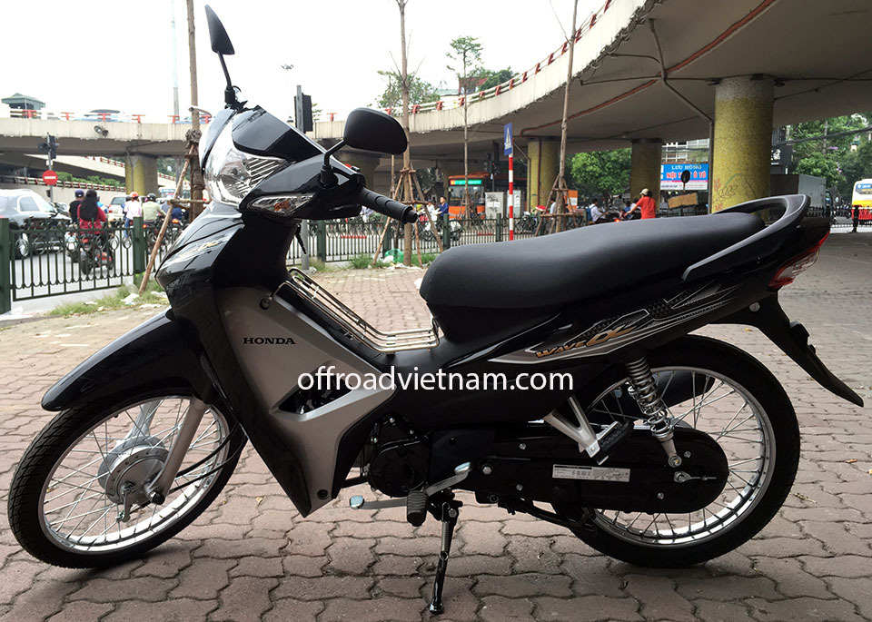 Offroad Vietnam Scooter Rental - Honda Wave Alpha 110cc for rent In Hanoi, 2017 model