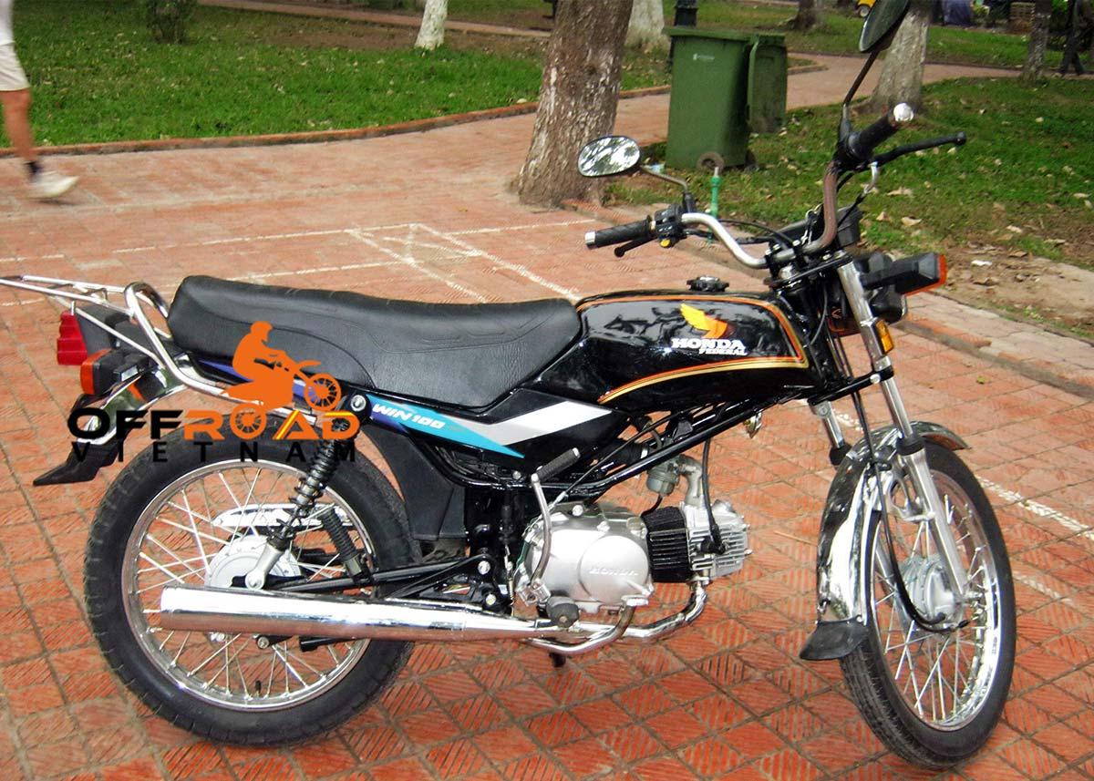 Offroad Vietnam Motorbike Sale - Honda Win 100cc For Sale In Hanoi: Rebuilt Honda Win Light Refreshed Sport 100cc Black, Drum brake