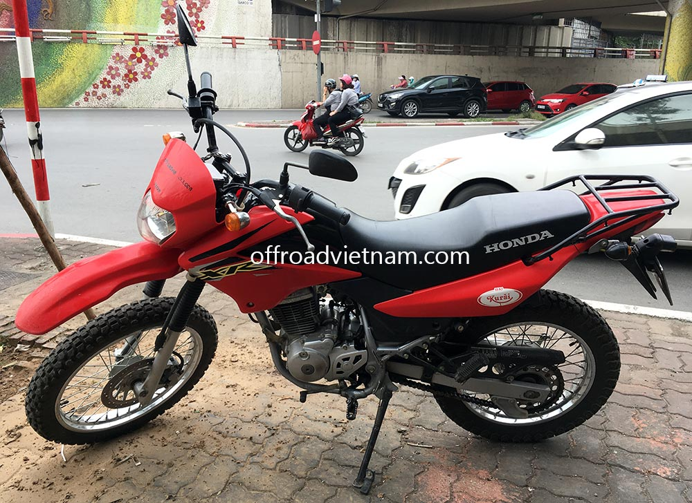 Offroad Vietnam Used Scooters For Sale In Hanoi - 2013 red dirt bike used Honda XR125 150cc for sale in Hanoi