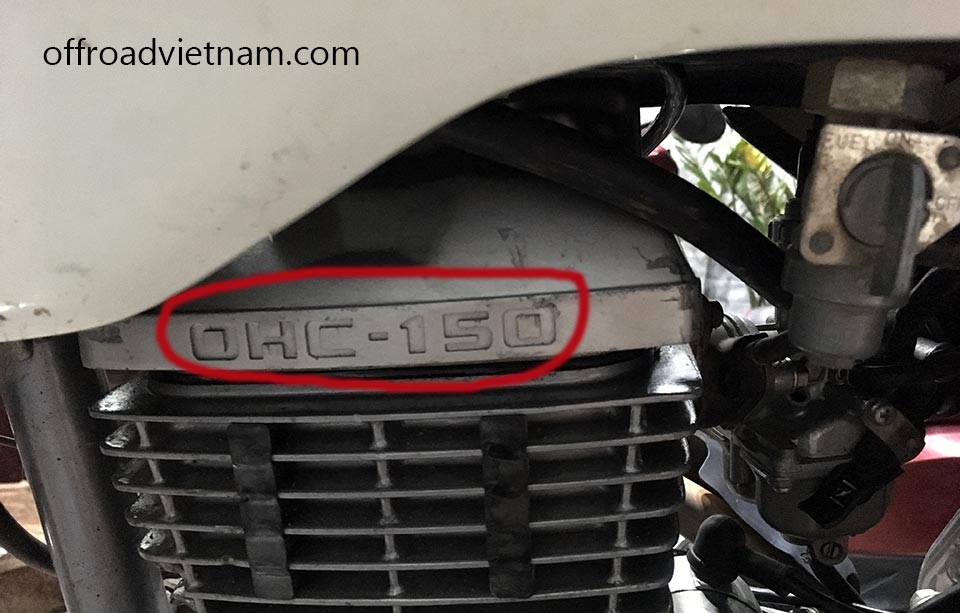 Offroad Vietnam Used Scooters For Sale In Hanoi - 2013-2015 dirt bike used Honda XR125 150cc for sale in Hanoi with replaced engine head 150cc