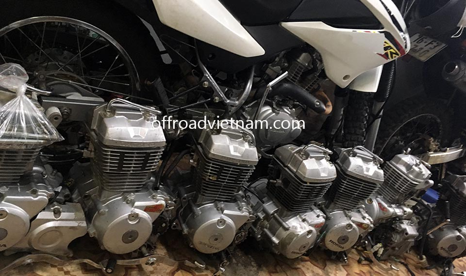 Offroad Vietnam Used Scooters For Sale In Hanoi - 2013-2015 dirt bike used Honda XR125 150cc for sale in Hanoi with replaced engine 150cc