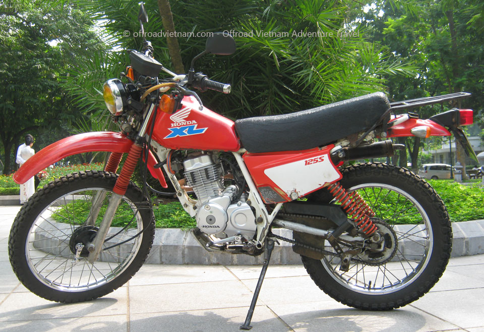 honda xl125 dirt bike spare parts prices offroad vietnam adventures. Black Bedroom Furniture Sets. Home Design Ideas