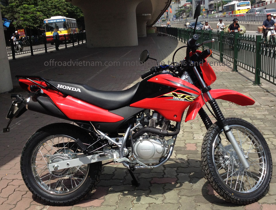 Offroad Vietnam Motorbike Adventures - Honda XR125L 125cc dirt bike spare parts prices. Honda XR125/150L is a new model.