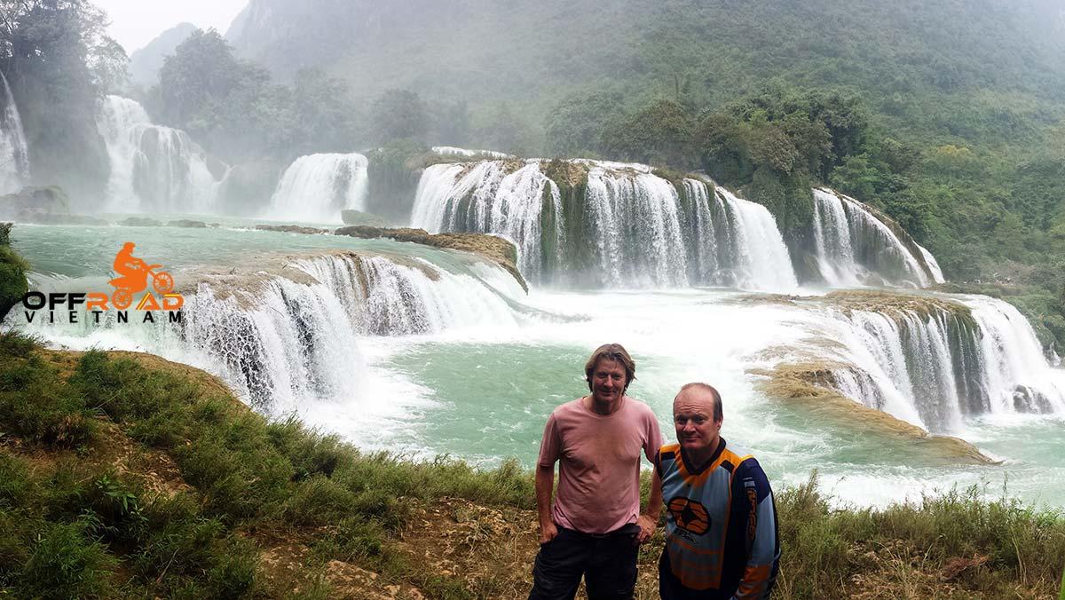 Offroad Vietnam Motorbike Adventures - Long North Loop 13 Days Motorbike Tour via Ban Gioc waterfalls.