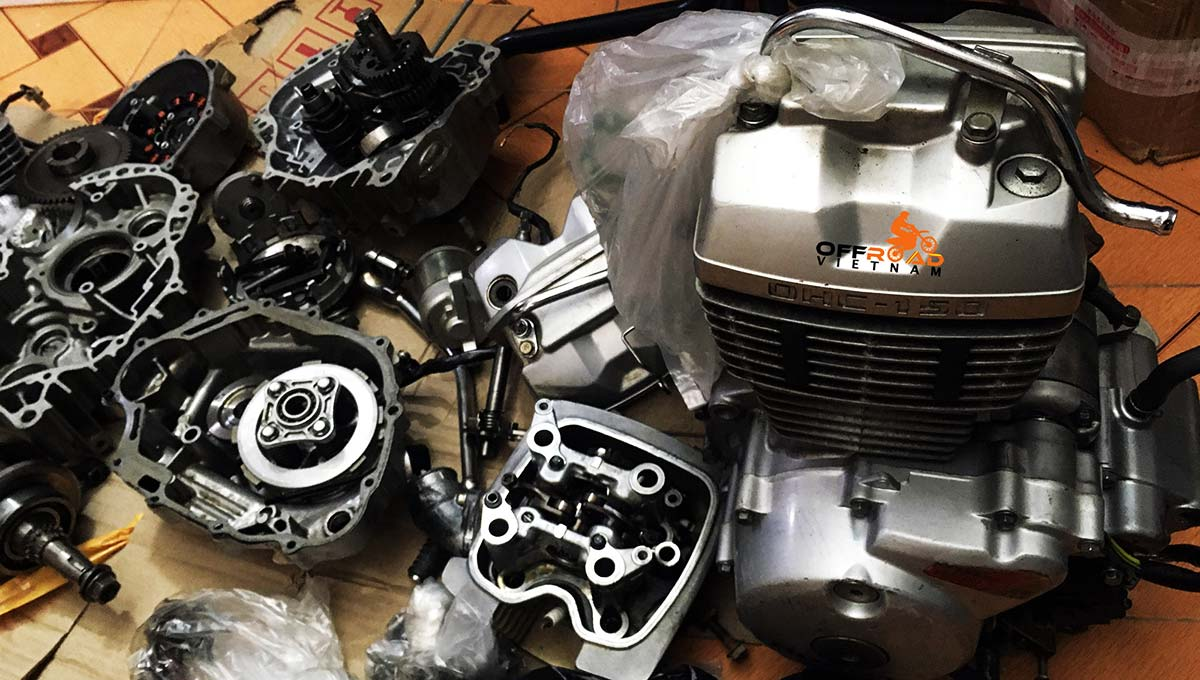 Offroad Vietnam Motorbike Adventures - Spare Parts Prices For Honda Motorbikes. Motorcycle spare parts applied for Offroad Vietnam motorcycles