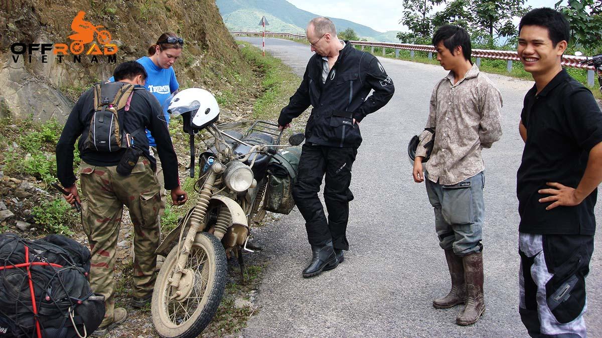 Offroad Vietnam Motorbike Adventures - Getting A Grip, Motorbike Tour Article by Mr Michael Slone (U.S.A.)
