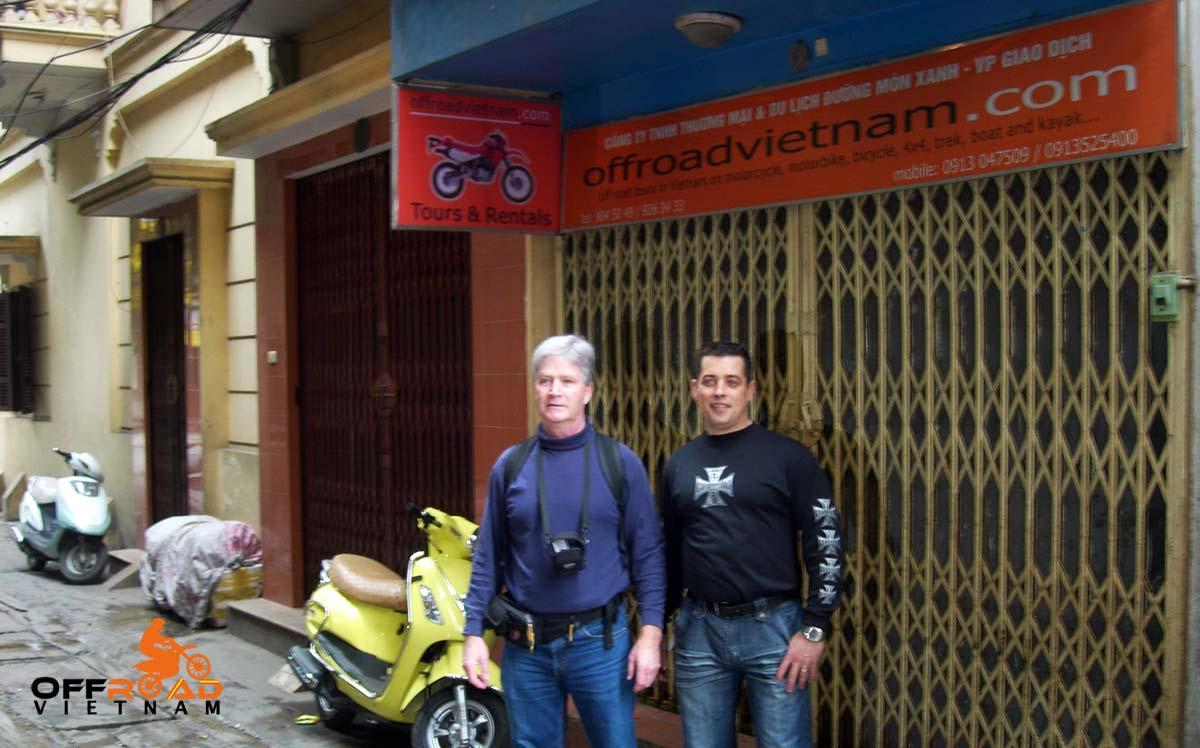Offroad Vietnam Motorbike Adventures - BikePoint Australia press release. Offroad Vietnam office.