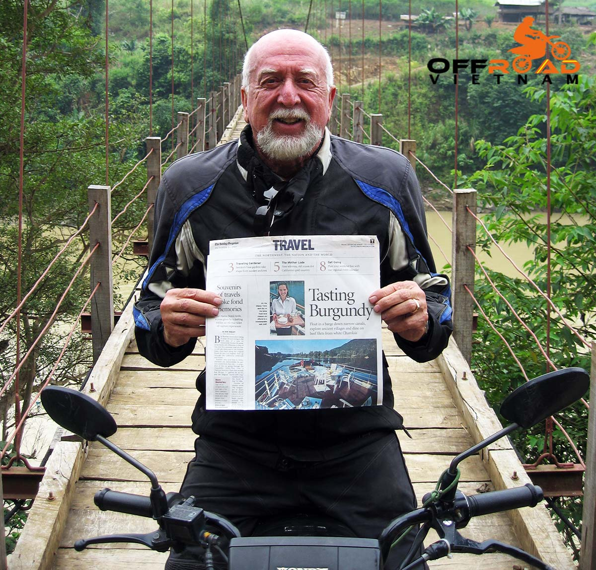 Offroad Vietnam Motorbike Adventures - Forbes Traveler Online with Charles Drummond words.