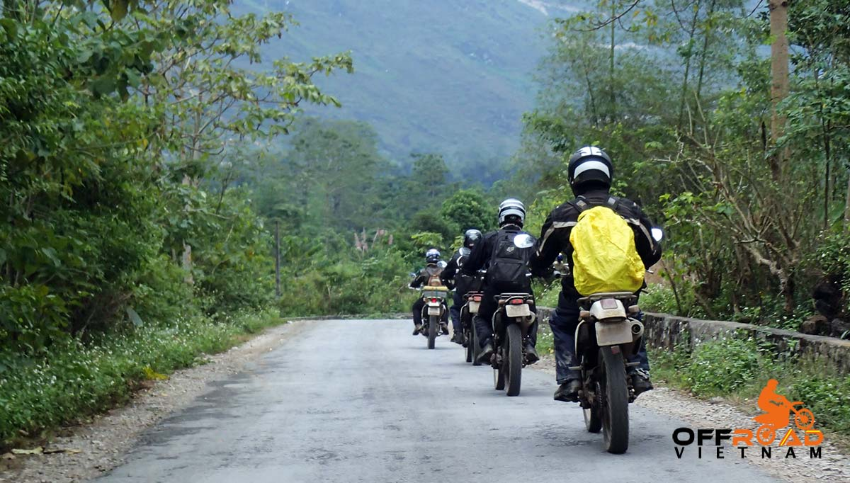 Offroad Vietnam Motorbike Adventures - Mrs. Claudia Oehling reviews a Vietnam roof roads motorbike ride.
