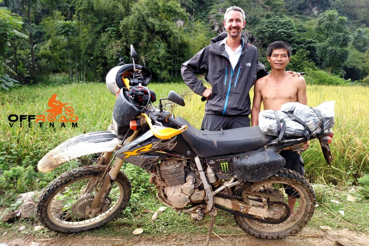 Offroad Vietnam Motorbike Adventures - Mr. Gregoire de Malherbe's Reviews Of Ha Giang Motorbike Tour in Vietnam, late September 2017.