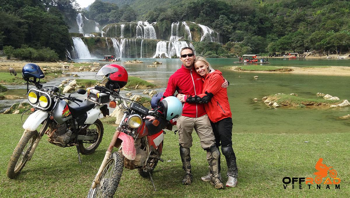 Offroad Vietnam Motorbike Adventures - Mr. Avril Lubbe & Mr. David Anderson's Reviews Of North-East Vietnam Motorbike Tour (England)