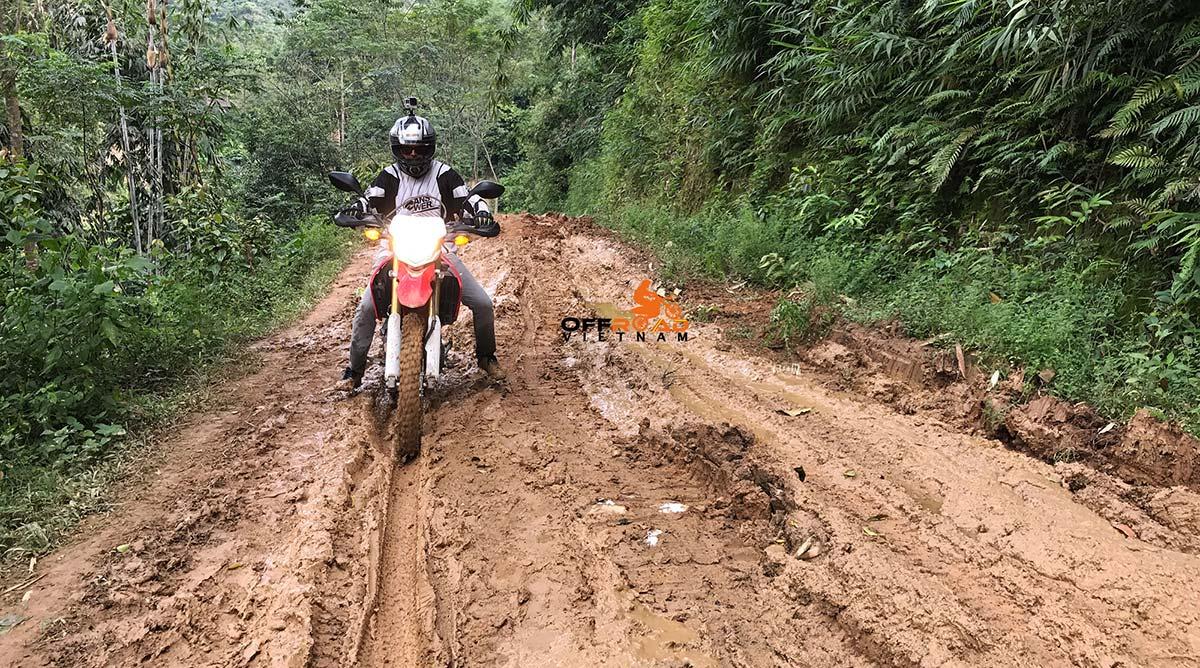 Offroad Vietnam Motorbike Adventures - North-Centre In 4 Days. Home Staying.