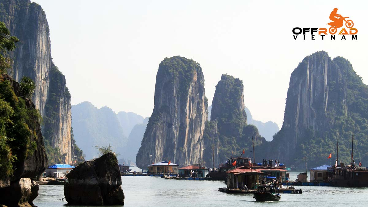 Offroad Vietnam Motorbike Adventures - North-east & Halong Bay cruise 8 days by junk boat.