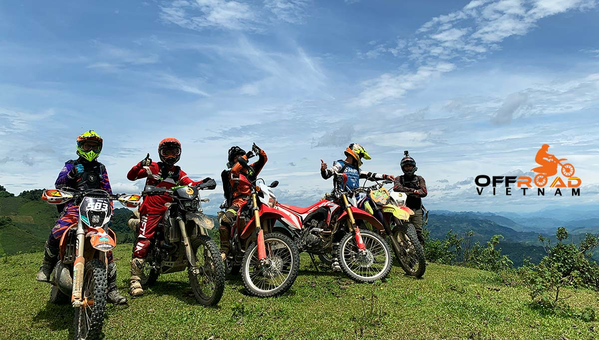 Offroad Vietnam Motorbike Adventures - North West in 10 days motorbike tour to Son La.