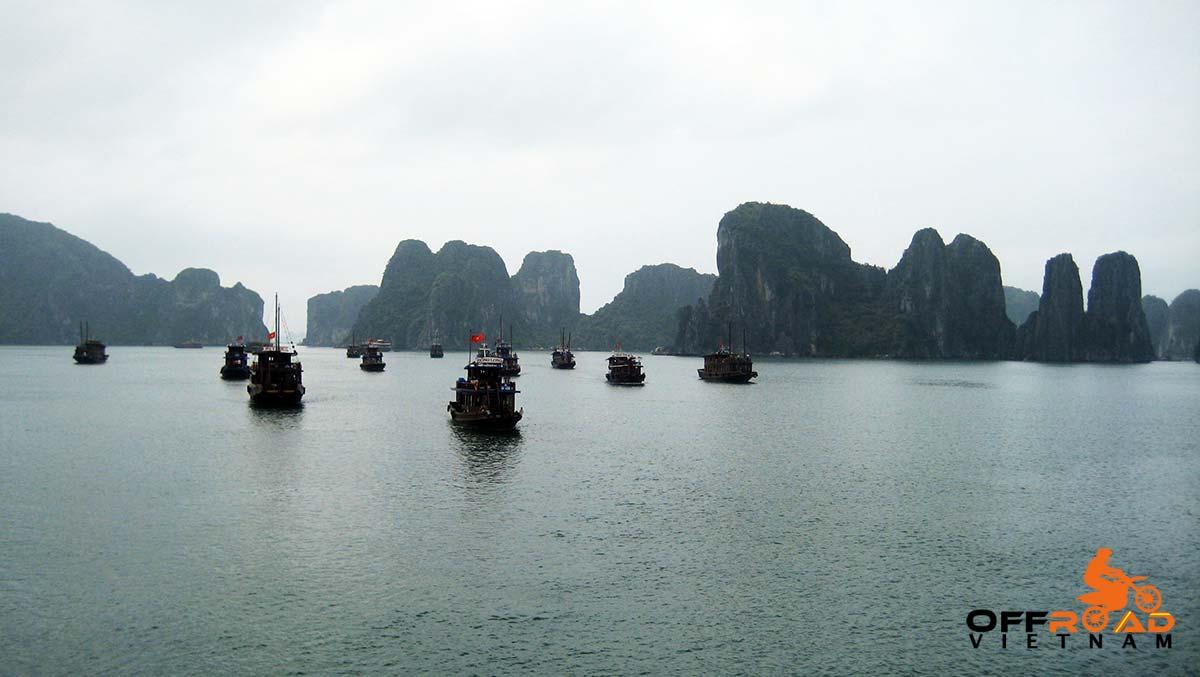 Offroad Vietnam Motorbike Adventures - Northeast & Cat Ba cruise in 9 days motorbike tour down to Halong Bay.