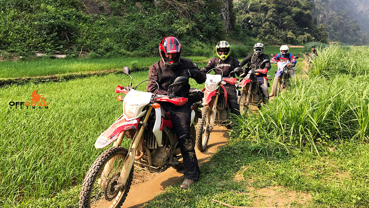 Offroad Vietnam Motorbike Adventures - Northeast & Halong Bay 10 days by bike via Ba Be.