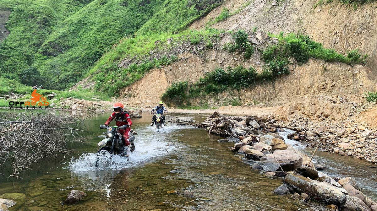 Offroad Vietnam Motorbike Adventures - Northwest & Halong Bay 11 Days By Bike. Motorcycling Northwest Vietnam in 11 days through Son La.