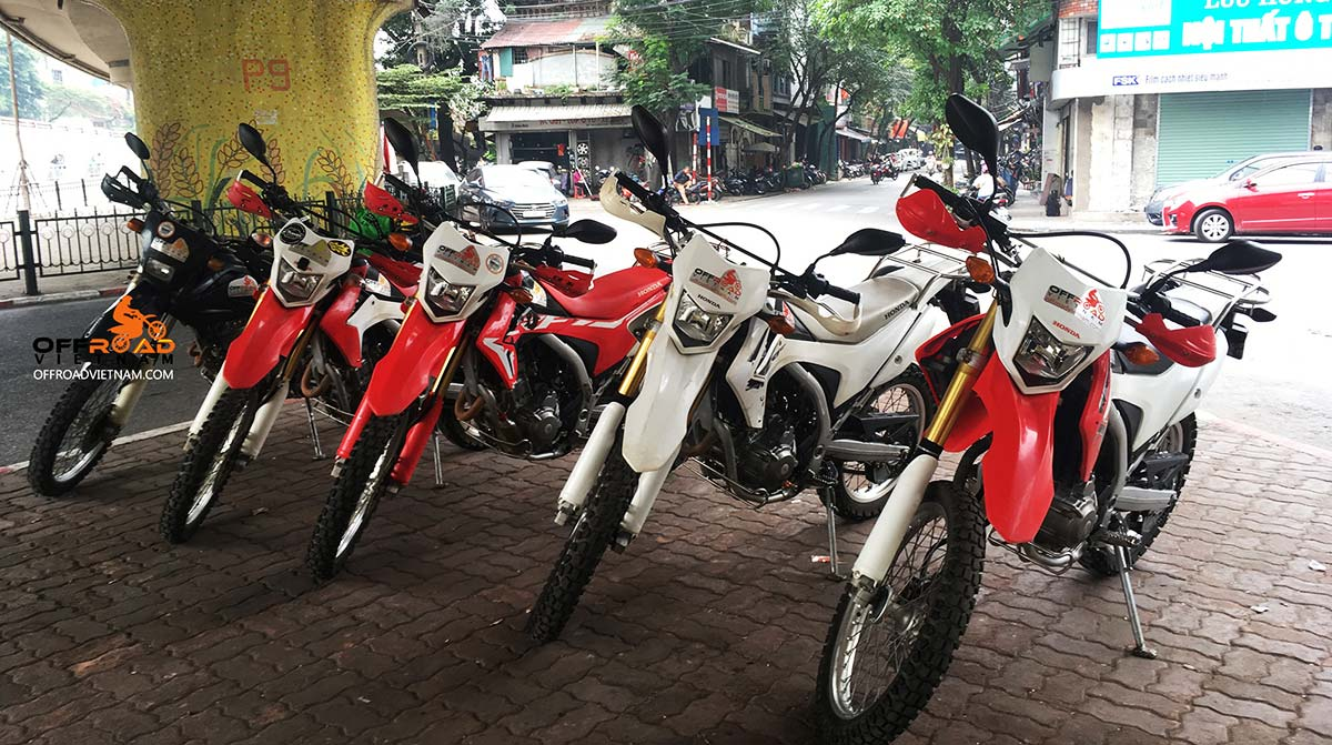 Offroad Vietnam Motorbike Adventures - Honda CRF250L 250cc Dual Enduro spare parts prices if you need to replacement or purchase parts from us.