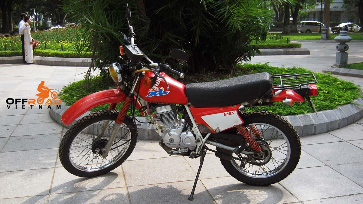 Offroad Vietnam Motorbike Adventures - Honda XL125 Dirt Bike Spare Parts Prices. Motorcycle spare parts of Honda XL125 125-230cc applied for Offroad Vietnam touring motorcycles