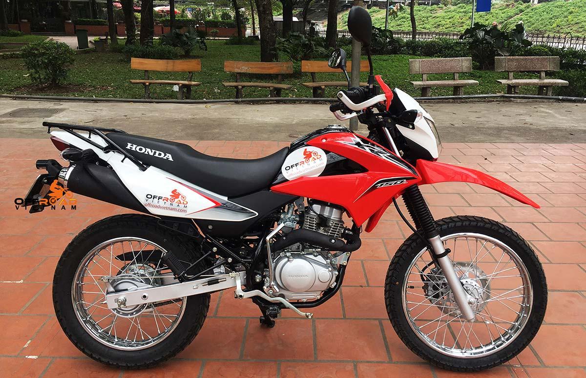 Offroad Vietnam Motorbike Adventures - Honda XR150L 150cc dirt bike spare parts prices. Honda XR125/150L is a new model.