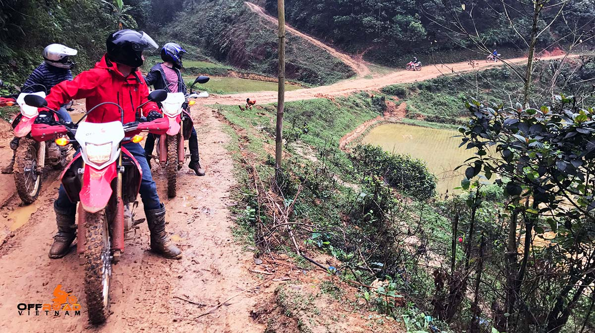 Offroad Vietnam Motorbike Adventures - Semi-guided Motorbike Tours Of Vietnam in a group.