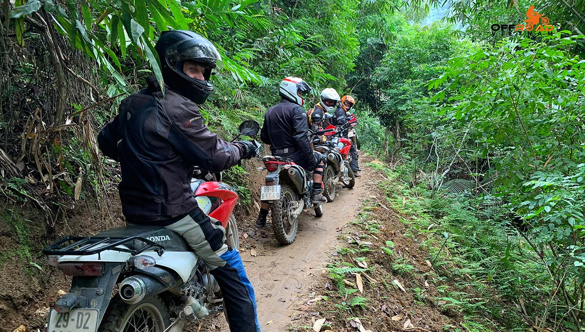 Offroad Vietnam Motorbike Adventures - Best Short Motorbike tours in 2 days to Mai Chau