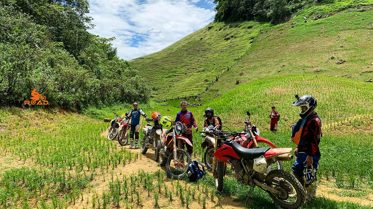 Offroad Vietnam Motorbike Adventures - Central North In 4 Days Motorbike Tour, Roof Or Middle Roads Of Vietnam Motorbike Tours In 4 Days
