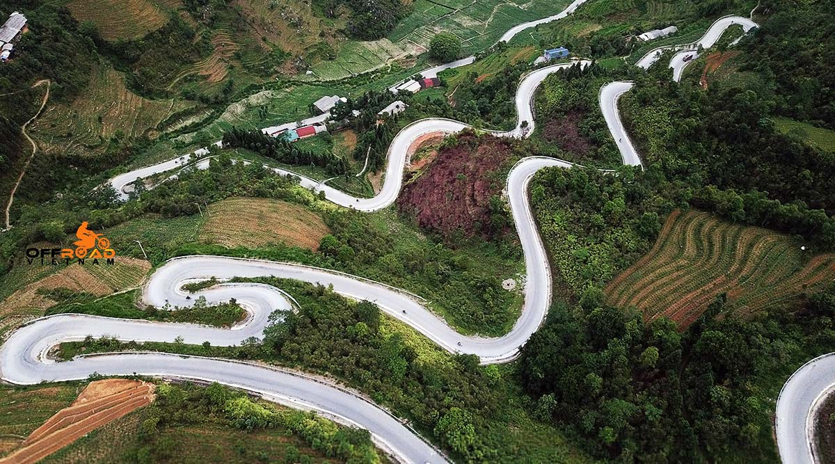Ha Giang and Northeast tours by Honda off road motorbikes