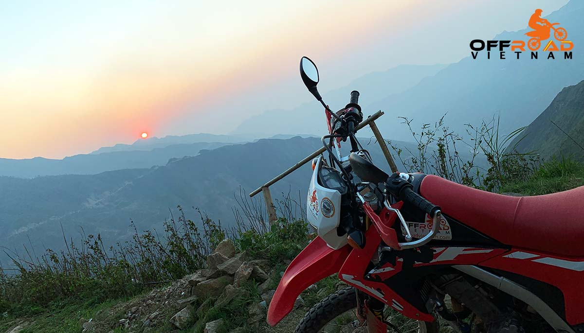 Vietnam enduro tours of North-west region by Honda CRF250L dual enduro.