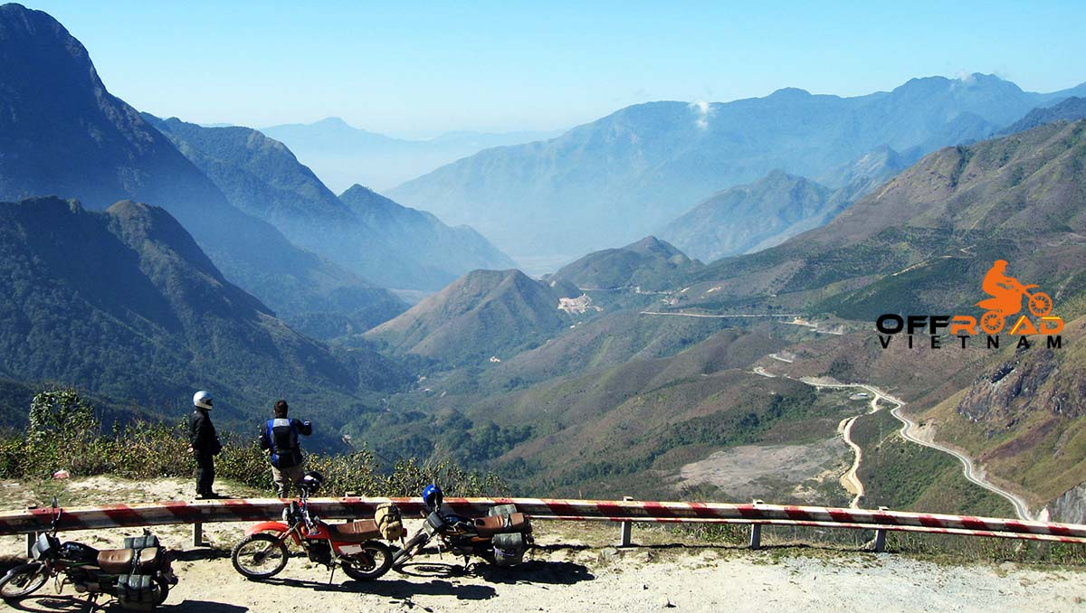 Offroad Vietnam Motorbike Adventures - North West Vietnam Motorbiking 10 Days via Sapa roof roads.