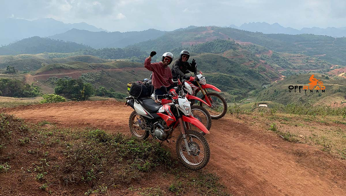 Offroad Vietnam Motorbike Adventures - Motorbike Rental Reviews. Ride to Ta Xua.