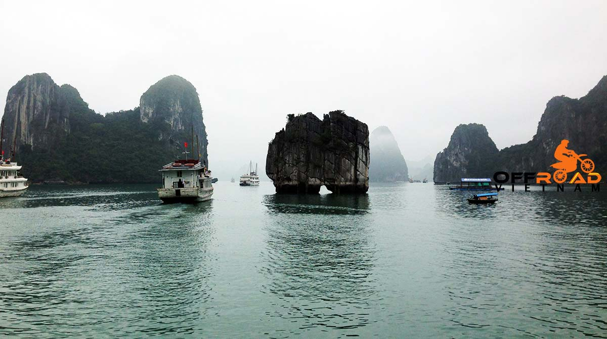 Offroad Vietnam Motorbike Adventures - Official 7 Days North-east & Halong Of Vietnam On Bike, Halong Bay Cruise