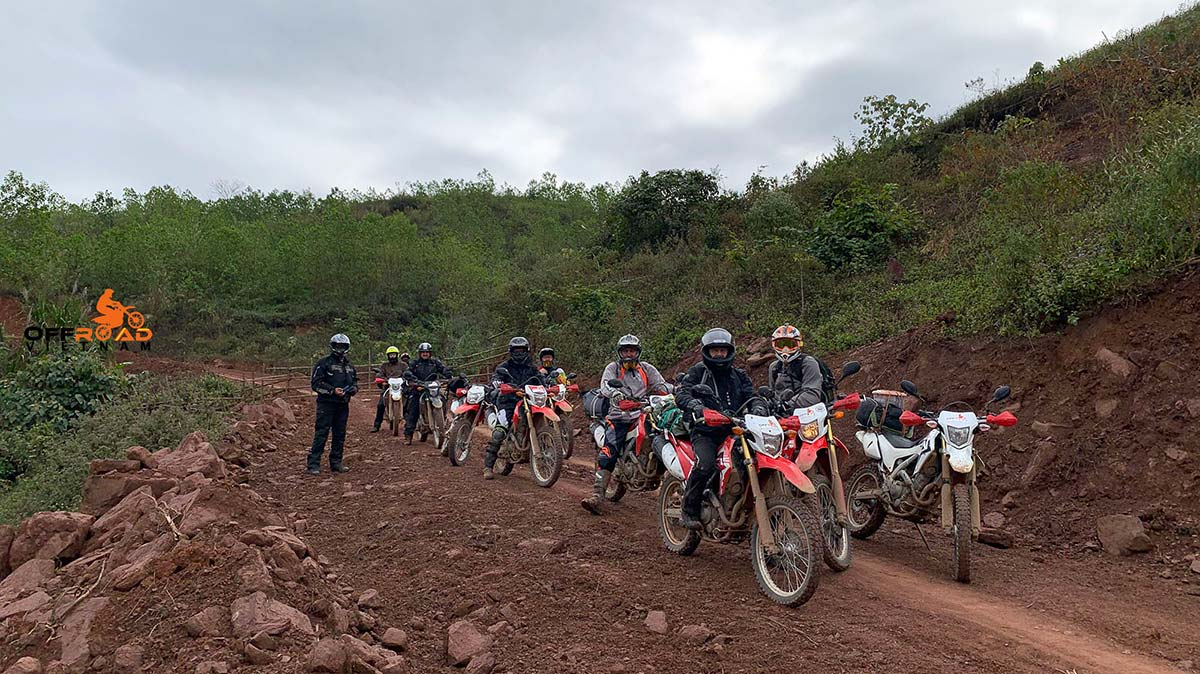 Options of Tour Packages by motorbike offered by Offroad Vietnam in or from Hanoi