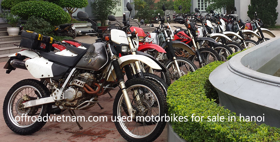 Offroad Vietnam Motorbike Adventures - Used Motorbikes For Sale In Hanoi: touring motorcycles, off-road motorbikes, scooters and other items from Offroad Vietnam