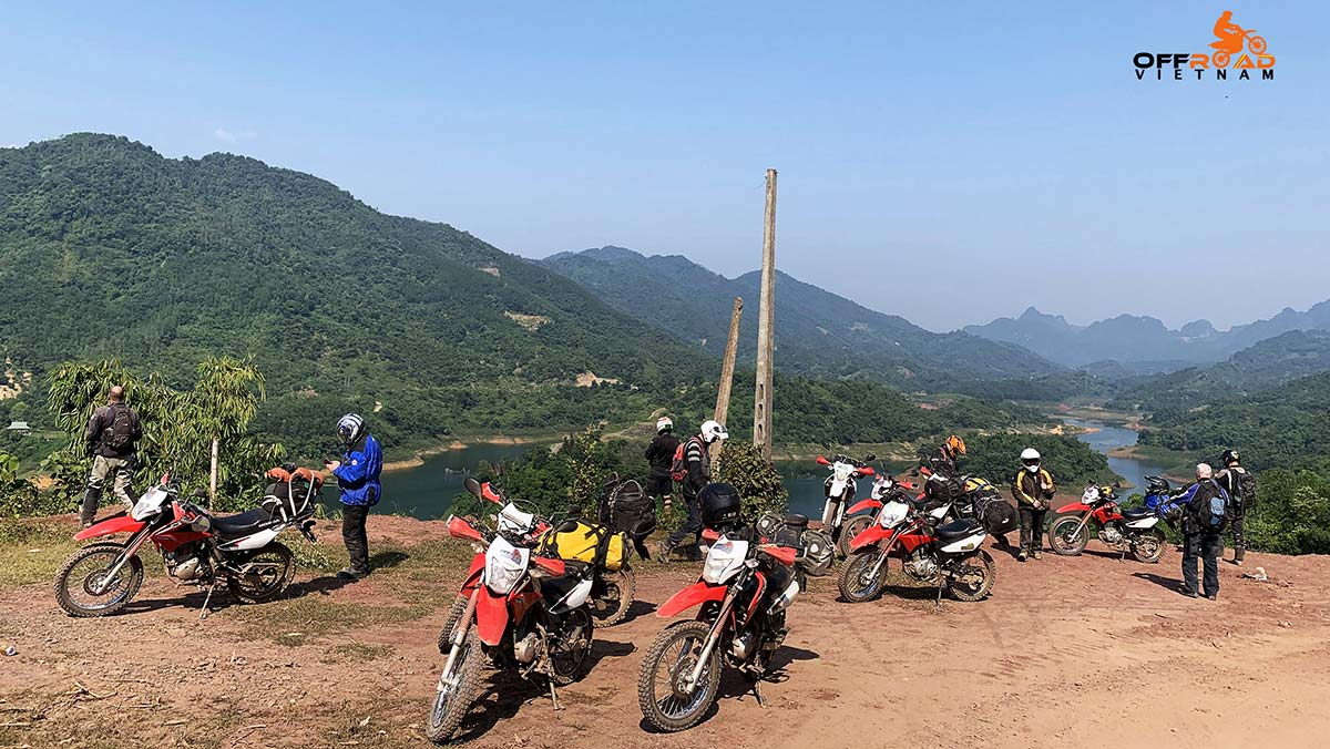 Offroad Vietnam Motorbike Adventures - Red River Delta in 3 days motorbike tour with homestays in Song Thao and Vu Linh.
